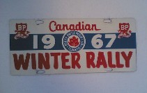 Canadian Winter Rally 1967
